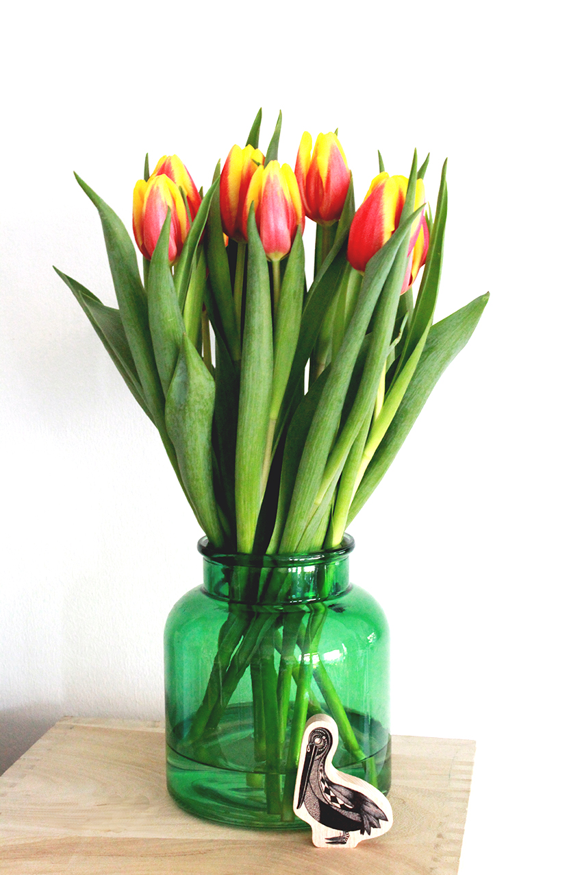 tulips bouquet by Patricia Thomazo