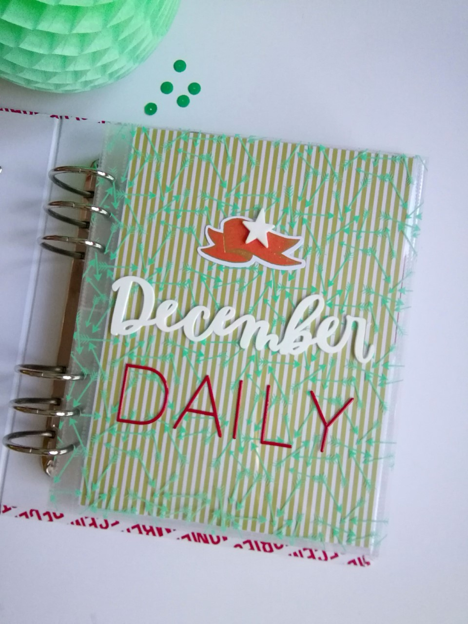 December Daily 2016 title page by patricia Thomazo
